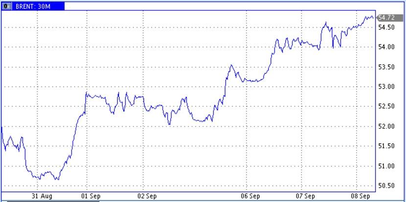 Цены нефти остались безразличными к резкому снижению добычи в США